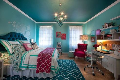 Inspiring bedroom design ideas for teenage girl 79