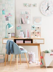 Inspiring bedroom design ideas for teenage girl 87