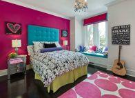 Inspiring bedroom design ideas for teenage girl 95