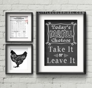 Inspiring kitchen wall art ideas 10