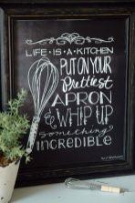 Inspiring kitchen wall art ideas 19