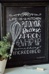 Inspiring kitchen wall art ideas 19