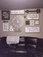 Inspiring kitchen wall art ideas 47