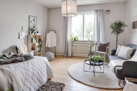 Inspiring modern studio apartment design ideas (16)