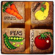 Inspiring painted rocks for garden ideas (12)