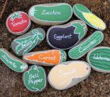 Inspiring painted rocks for garden ideas (22)