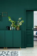 Kitchens design ideas with green walls 36
