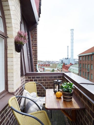 Modern apartment balcony decorating ideas 12