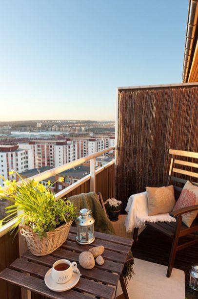 Modern apartment balcony decorating ideas 50