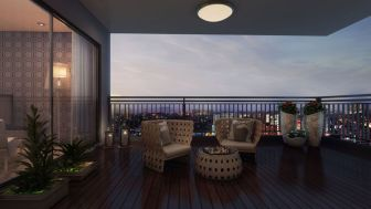Modern apartment balcony decorating ideas 62
