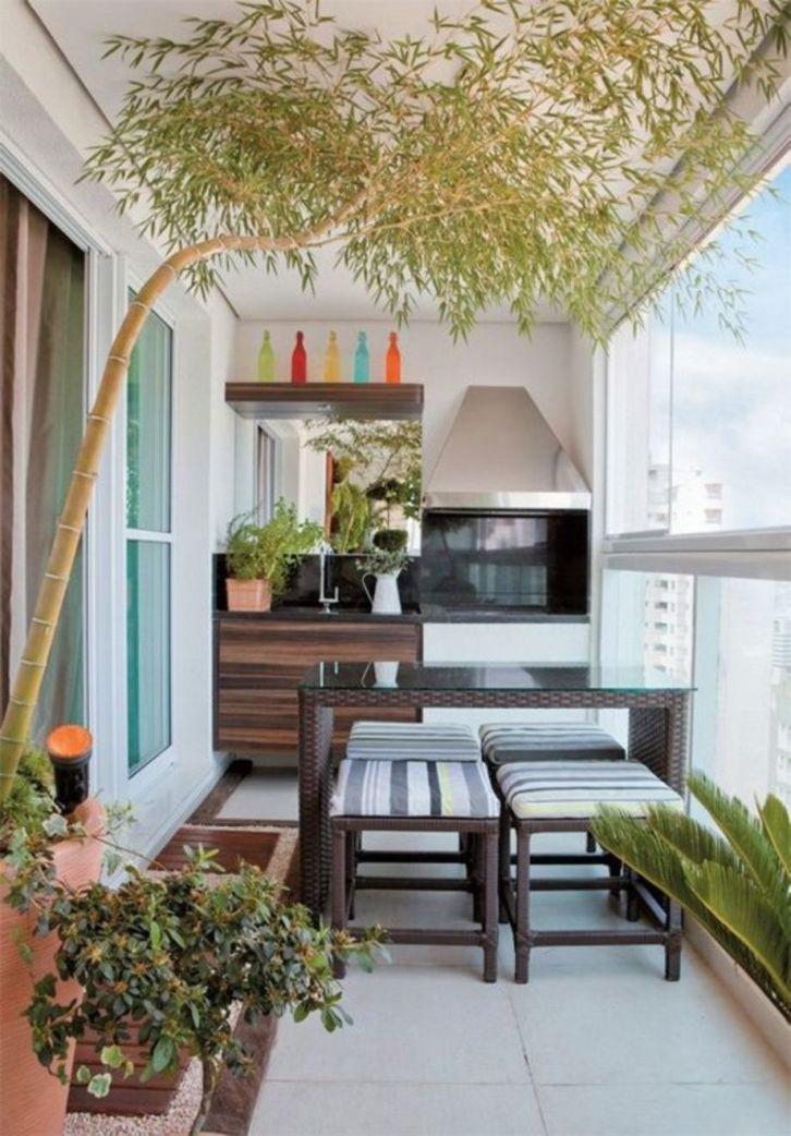 Modern apartment balcony decorating ideas 87
