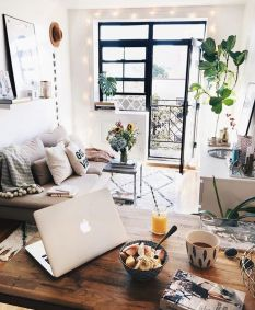 Modern apartment decor ideas you should try 20