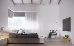 Modern bedroom design ideas with minimalist touch 27