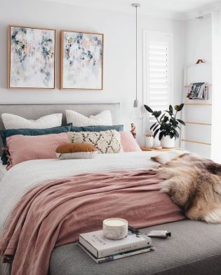 Modern bedroom design ideas with minimalist touch 36