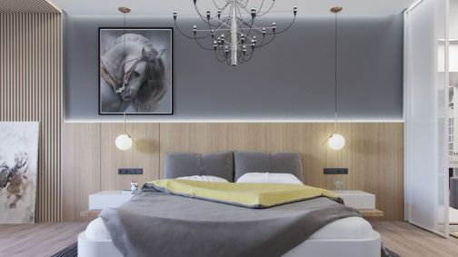 Modern bedroom design ideas with minimalist touch 40
