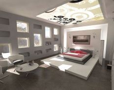 Modern bedroom design ideas with minimalist touch 57