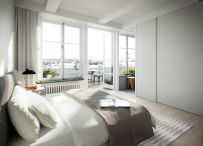 Modern bedroom design ideas with minimalist touch 69