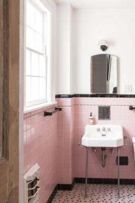Modern small bathroom tile ideas 044