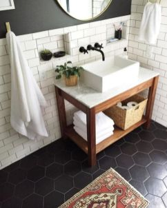 Modern small bathroom tile ideas 046