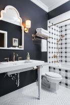 Modern small bathroom tile ideas 055