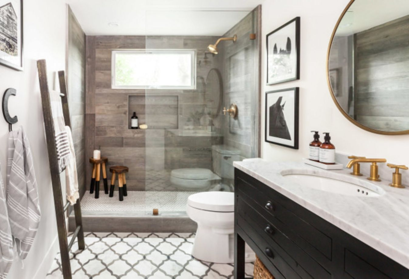 Modern Small Bathroom 122 Modern Small Bathroom Tile Ideas Roundecor