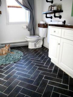 Modern small bathroom tile ideas 119