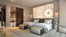 Stunning bedrooms interior design with luxury touch 34