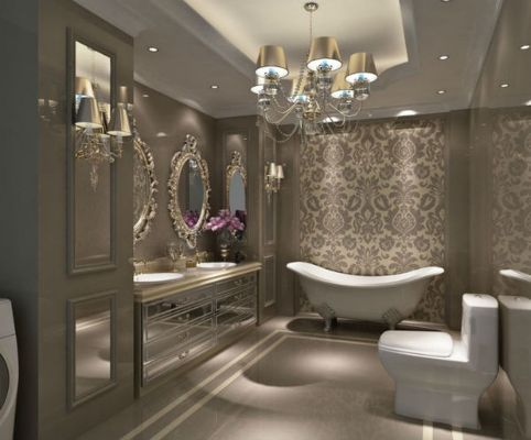 Stunning bedrooms interior design with luxury touch 44