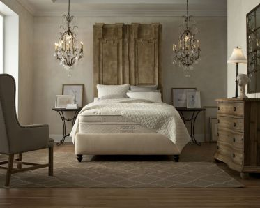 Stunning bedrooms interior design with luxury touch 47