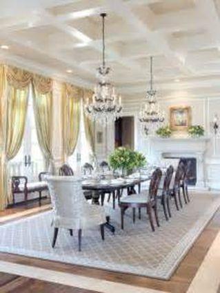 Stunning dining room area rug ideas 08