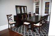 Stunning dining room area rug ideas 14