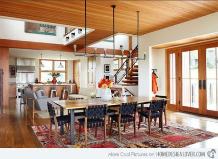 Stunning dining room area rug ideas 15