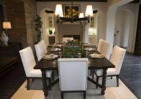 Stunning dining room area rug ideas 16