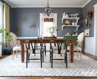 Stunning dining room area rug ideas 18
