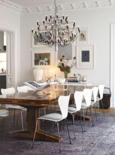 Stunning dining room area rug ideas 19
