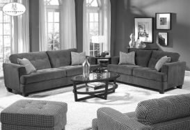 Stunning gray and white living room decor ideas 16