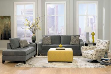 Stunning gray and white living room decor ideas 18