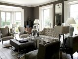 Stunning gray and white living room decor ideas 41