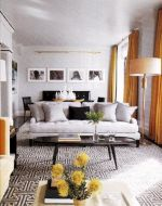 Stunning gray and white living room decor ideas 45