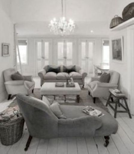 Affordable Grey And White Home Decor Ideas: 70 Stunning Gray And White Living Room Decor Ideas