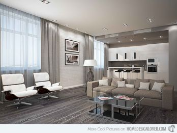 Stunning gray and white living room decor ideas 66