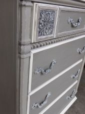 Stunning grey chalk paint furniture 02