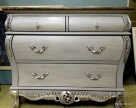 Stunning grey chalk paint furniture 10