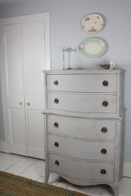 Stunning grey chalk paint furniture 14