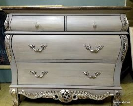 Stunning grey chalk paint furniture 30