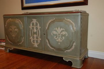Stunning grey chalk paint furniture 38