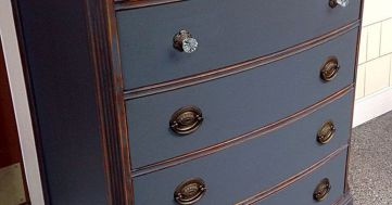 Stunning grey chalk paint furniture 39