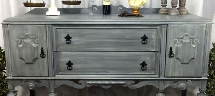 Stunning grey chalk paint furniture 42
