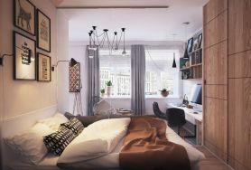 Stunning small apartment bedroom ideas 08