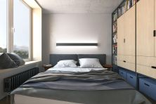 Stunning small apartment bedroom ideas 81